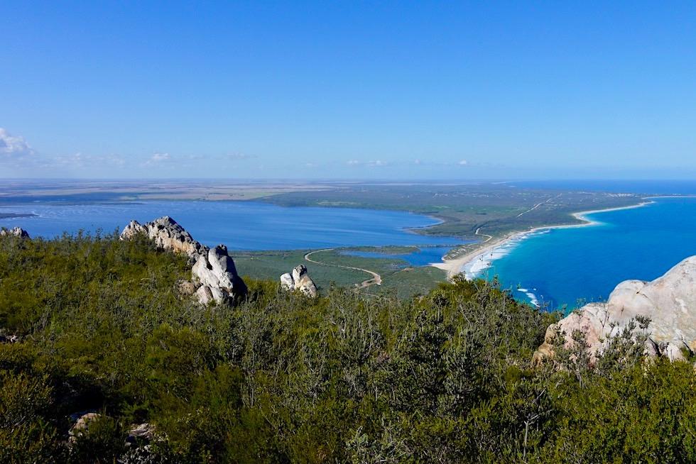 Großartiger Gipfelblick vom East Mount Barren zum Culham Inlet - Fitzgerald River National Park - Western Australia