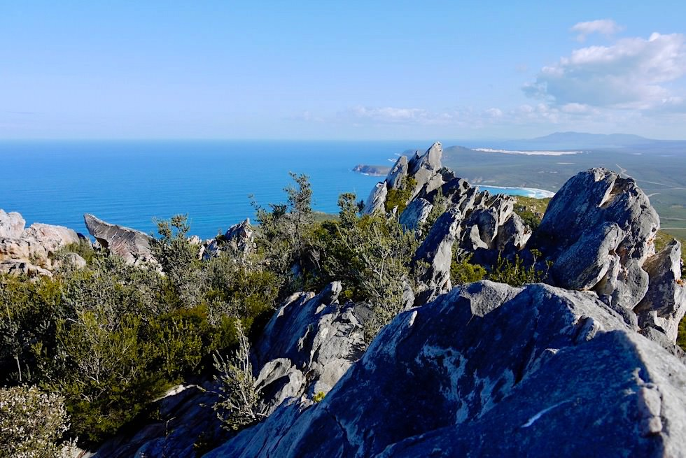 Gipfelblick - East Mount Barren im Fitzgerald River National Park - Western Australia
