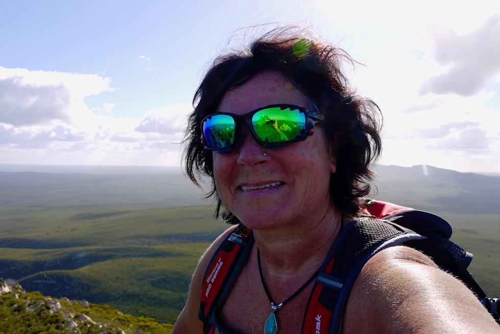 Gipfelglück auf dem East Mount Barren im Fitzgerald River National Park - Western Australia