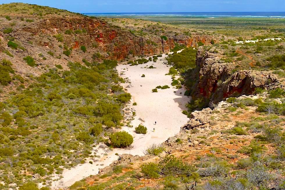 Grandioser Ausblick - Mandu Mandu Gorge Walk - Cape Range National Park - Western Australia