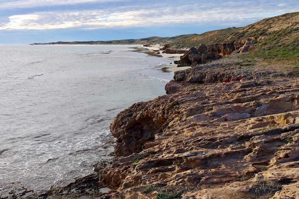Küste: Blick Richtung Norden & Ningaloo Reef - Coral Bay Quad Tour - Western Australia
