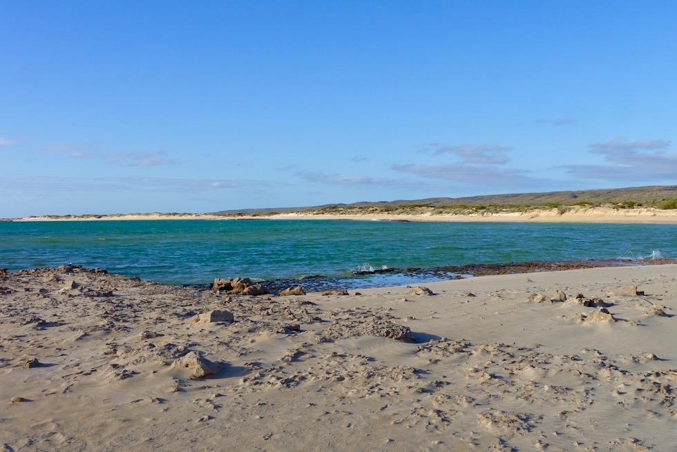 Lakeside ideal für lange, lange Strandspaziergänge - Cape Range NP - Western Australia
