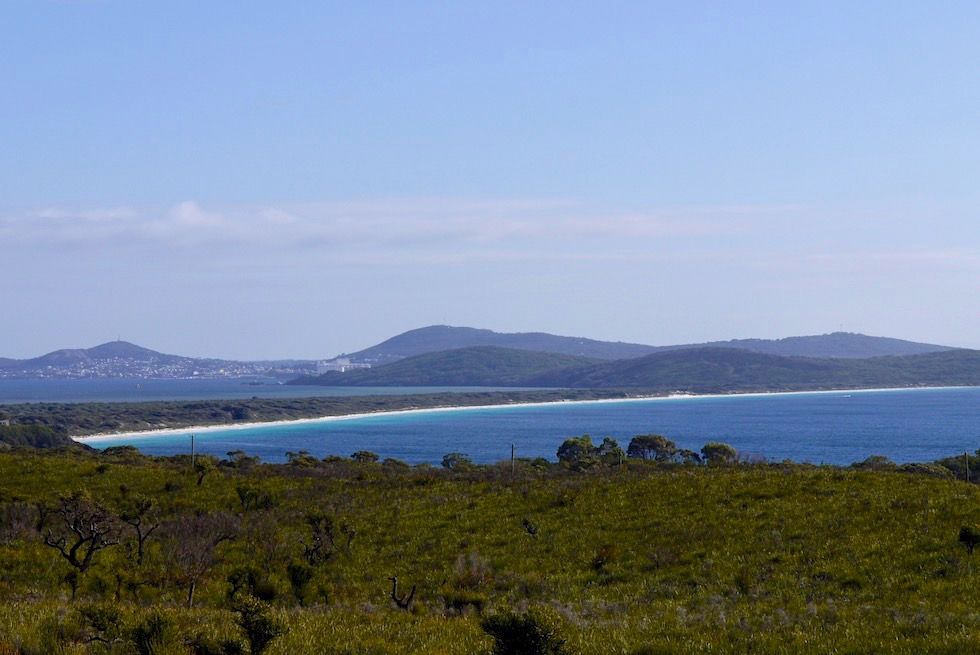 Blick auf Albany & Frenchman Bay vom Lookout - Torndirrup National Park - Western Australia