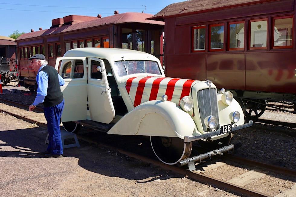 Morris 25 - Motor Inspection Car MIC126 - Pichi Richi - Southern Australia