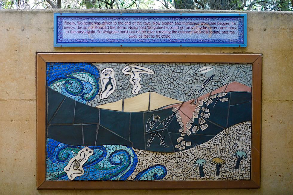 Ngilgi Aboriginal Story - Margaret River Caves - Western Australia