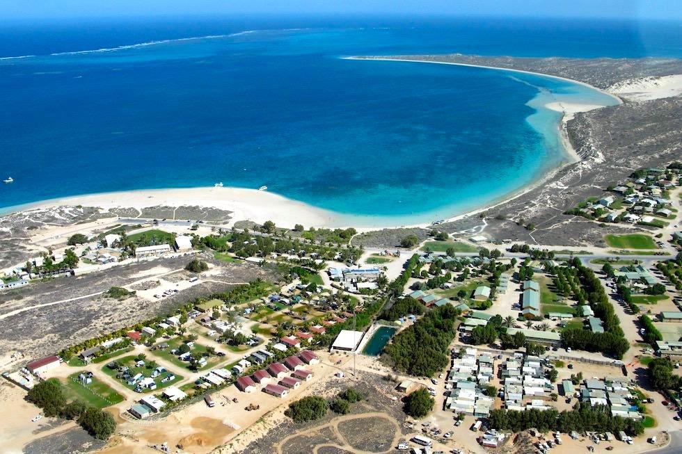 Ningaloo Reef & Coral Bay von oben - Western Australia