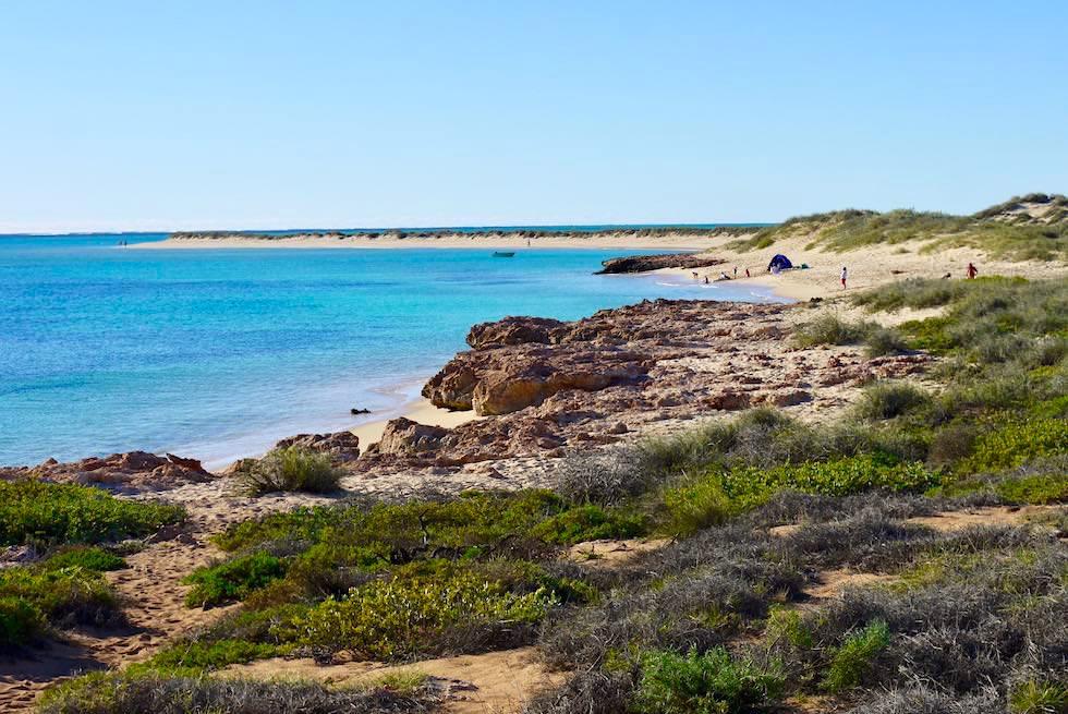 Felsen & Sand am Osprey Bay - Cape Range National Park - Western Australia