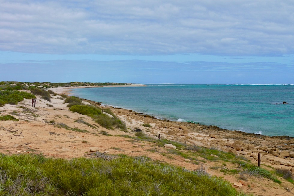 Oyster Stack der beste Schnorchel Spot - Cape Range National Park - Western Australia