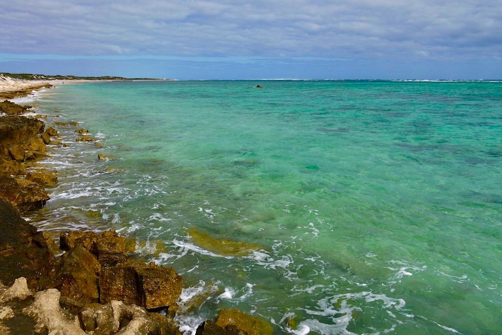 Oyster Stack - Der schönste Spot zum Schnorcheln am Ningaloo Reef im Cape Range National Park - Exmouth - Western Australia