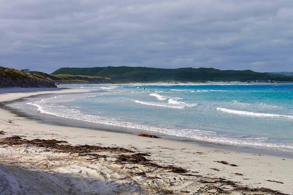 Parry Beach eines der Rainbow Coast Highlights - Denmark - Western Australia