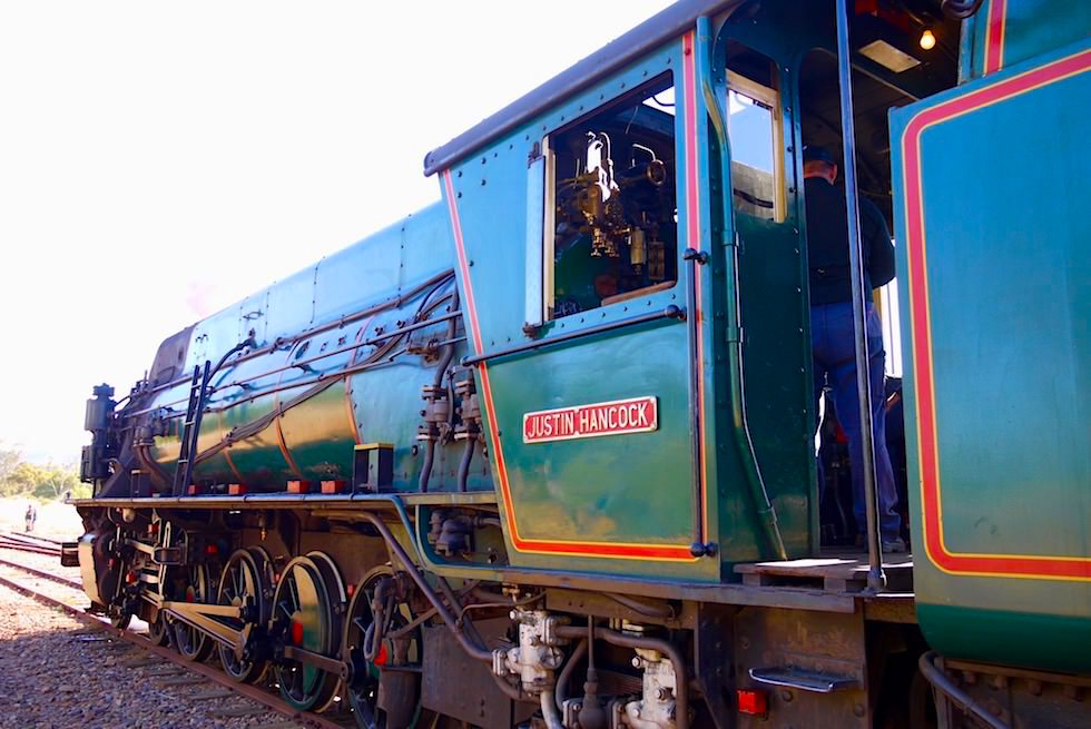 Pichi Richi Railway in Quorn - Dampflokomotive -Southern Australia