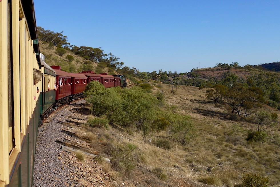 Pichi Richi Railway - Fahrt durch die Flinders Ranges - Southern Australia