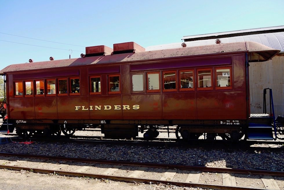 Pichi Richi Railway in Quorn - Historischer Personenwagen - South Australia