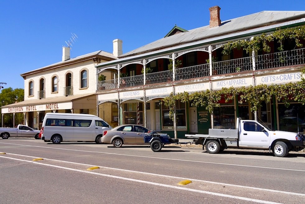 Quorn Hauptstrasse -Pichi Richi Railway - Hotel & Pub - South Australia