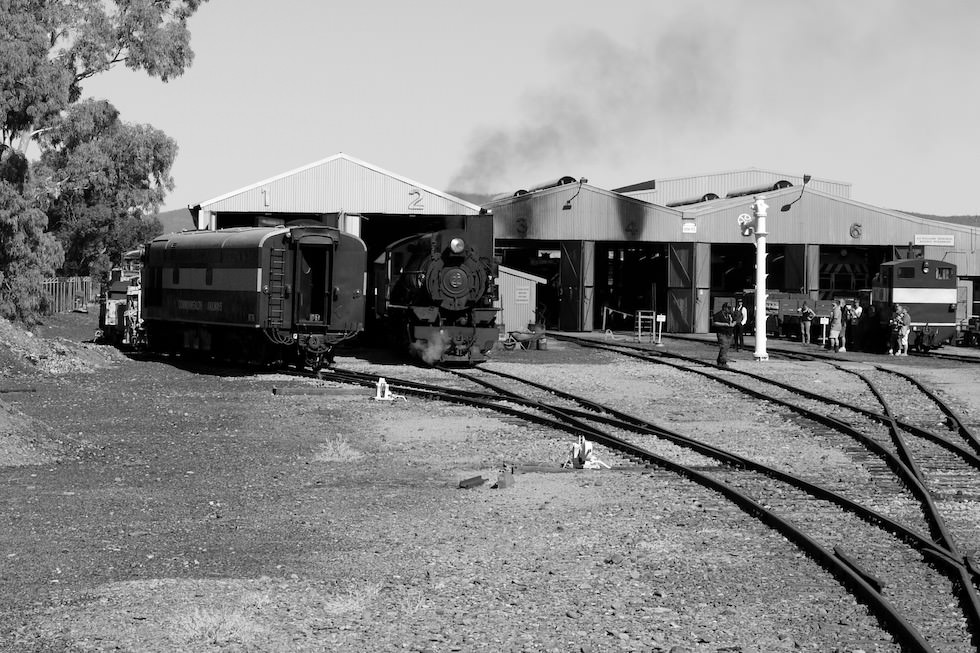 Quorn - Railway Workshop Pichi Richi - South Australia