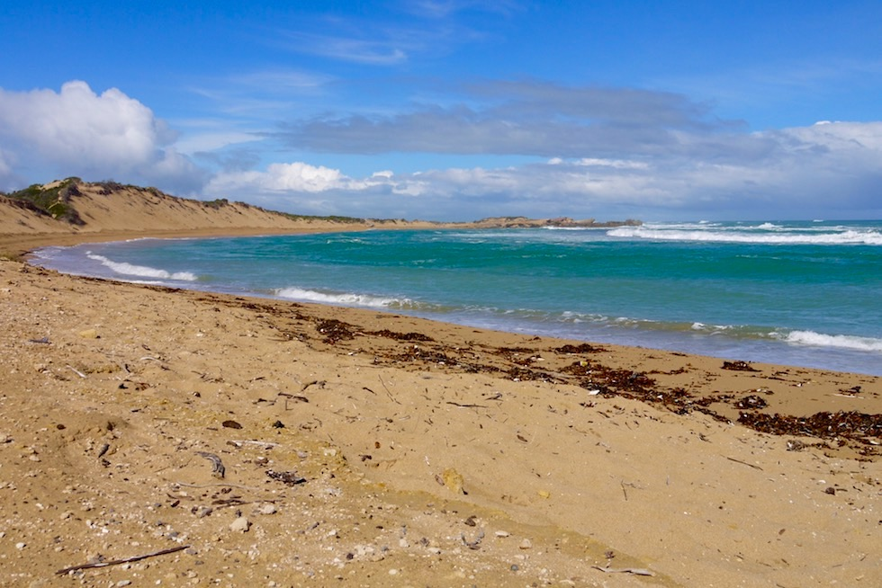 Salmon Hole beliebt bei Anglern - Beachport - South Australia