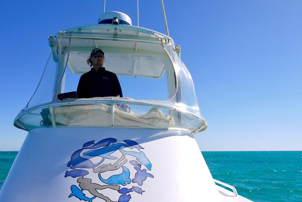 Schnorcheln mit Mantas auf der Utopia - Coastal Adventure Tours in Coral Bay - Western Australia