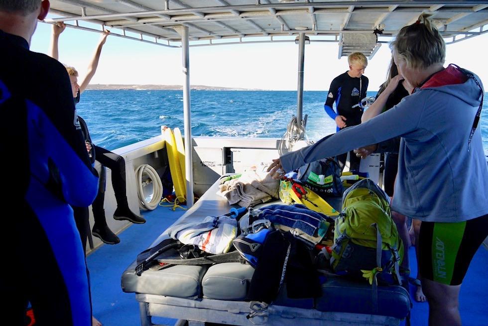 Schnorcheln mit Mantas - Mit der Utopia von Coastal Adventures Tours Coral Bay - Western Australia