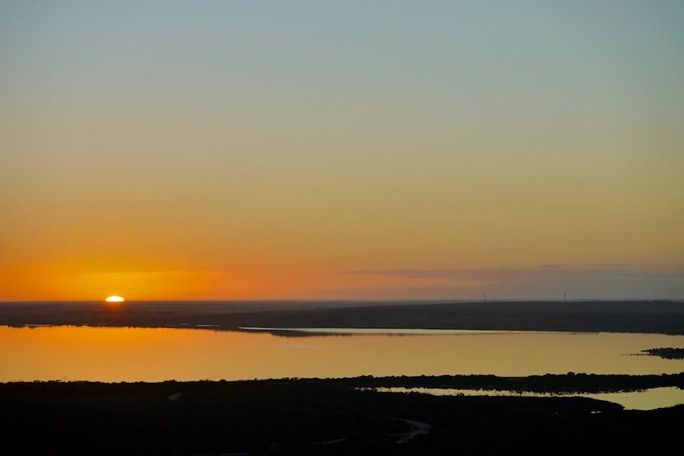 Sonne steigt über Culham Inlet auf - Fitzgerald River National Park - Western Australia