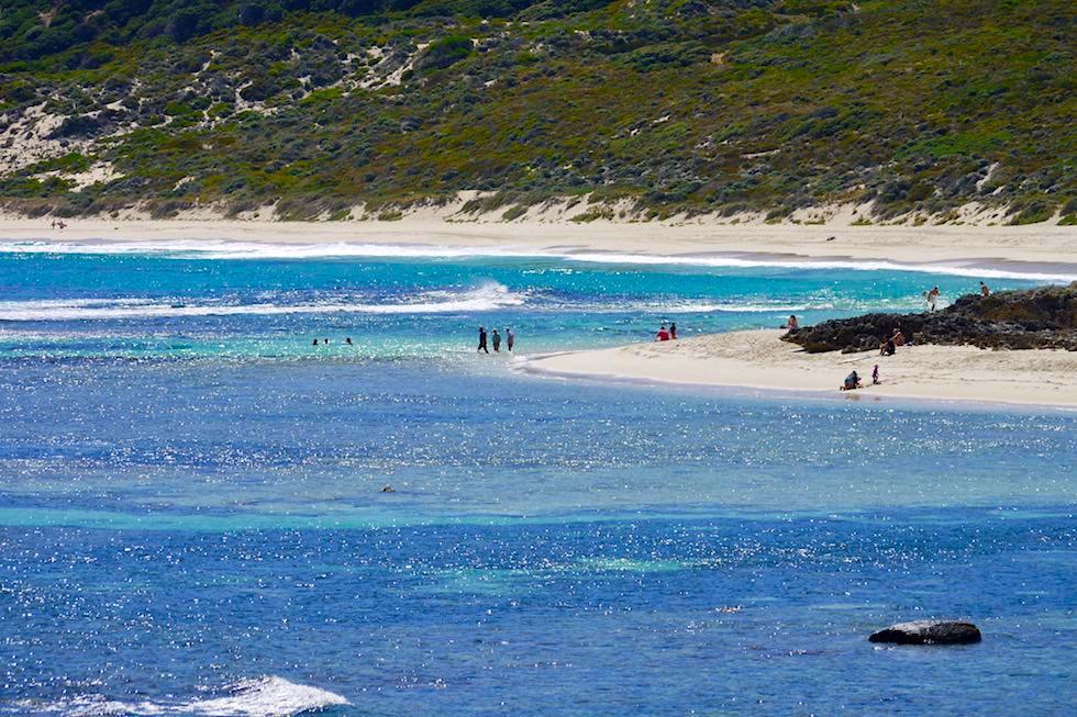 Yallingup Beach bei Sonnenschein - Western Australia