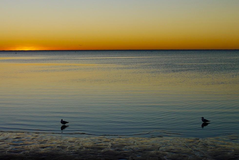 Sonnenuntergang - Bills Bay in Coral Bay - Western Australia