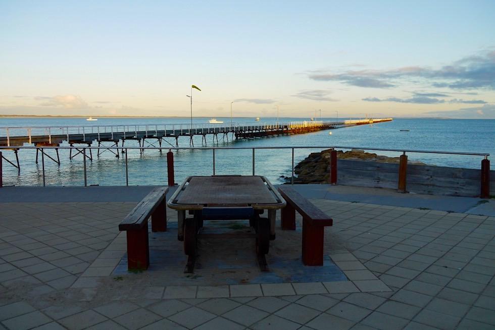 Sonnenuntergang am Hafen von Beachport - South Australia