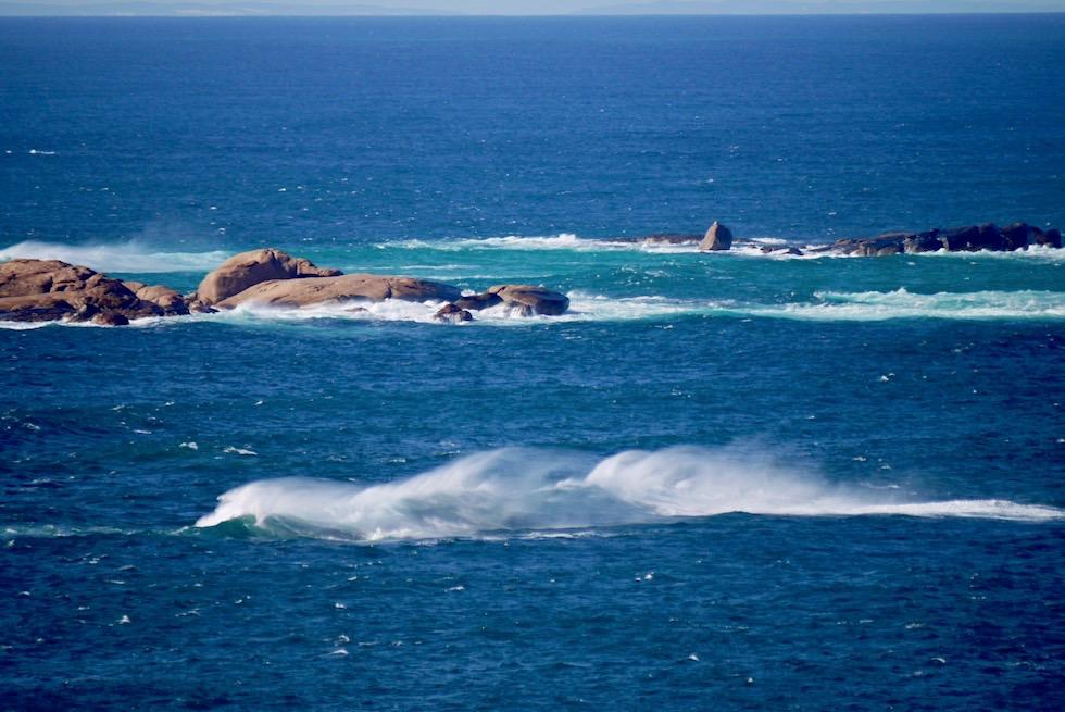 Blick auf den Southern Ocean vom Cape Leeuwin Lighthouse - Leeuwin-Naturaliste National Park - Western Australia