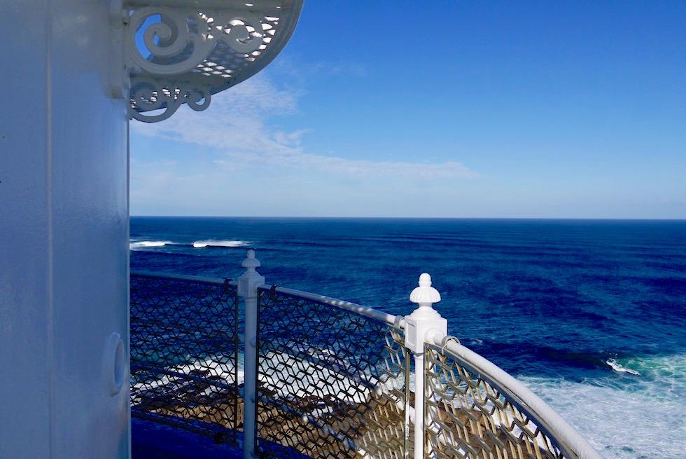 Von der Plattform des Cape Leeuwin Leuchtturms - Southern Ocean & Indian Ocean treffen aufeinander - Margaret River Region - Western Australia