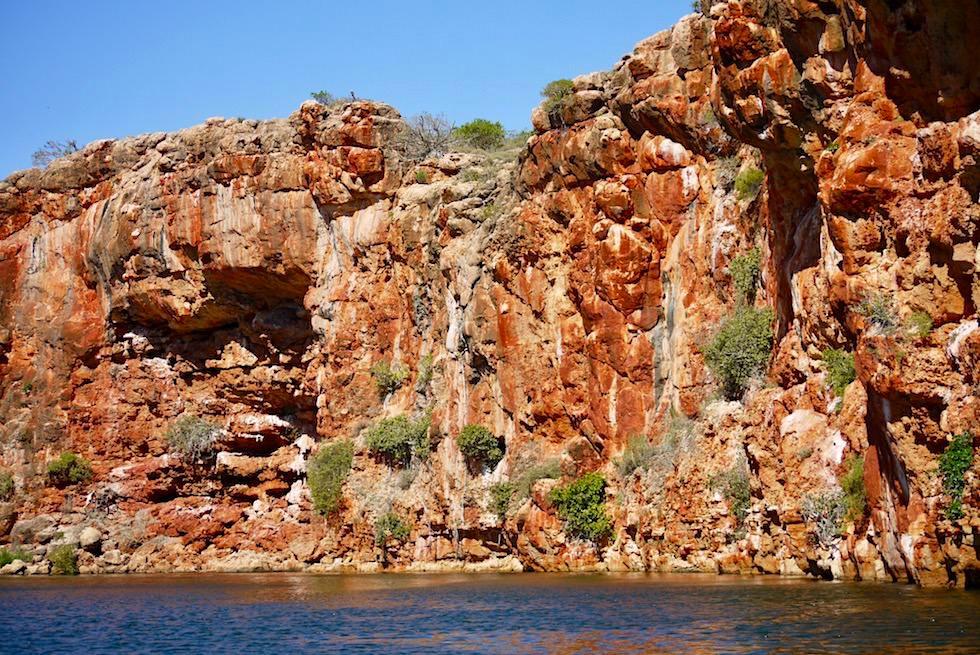 Leuchtende Steilwand - Yardie Creek Gorge & Yardie Creek Boat Tour - Western Australia