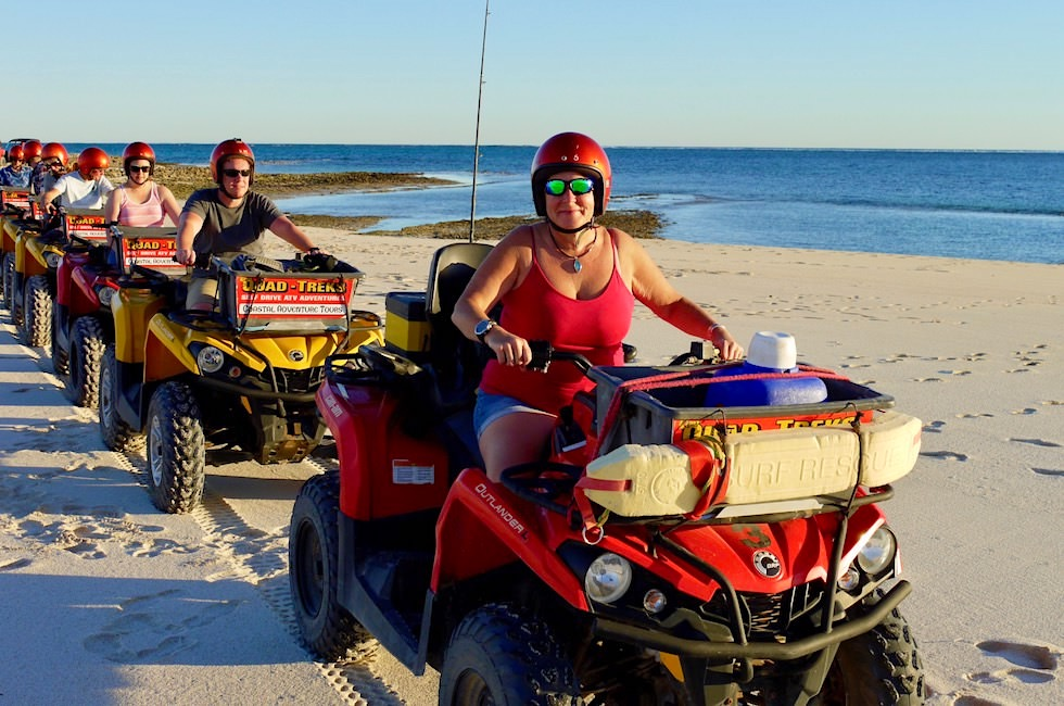 Sunset Coral Bay Quad Tour - Western Australia