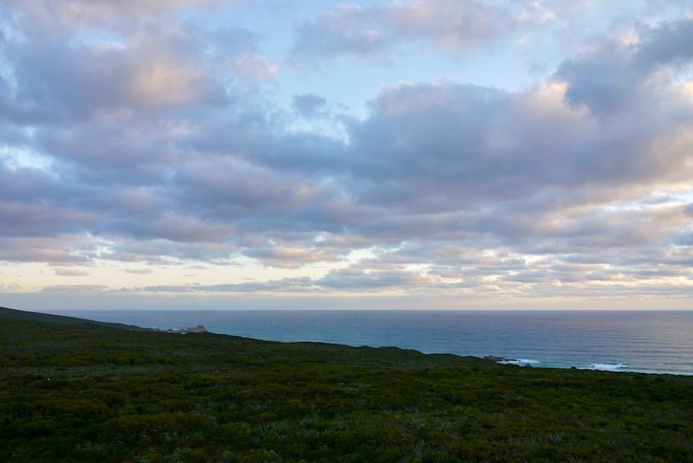 Blick zum Surgarloaf Rock vom Cape Naturaliste Lighthouse - Dunsborough - Western Australia