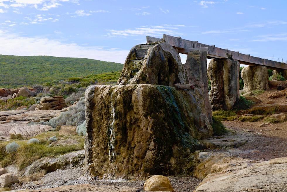 Kuriosität: Versteinertes Wasserrad - Cape Leeuwin - Western Australia