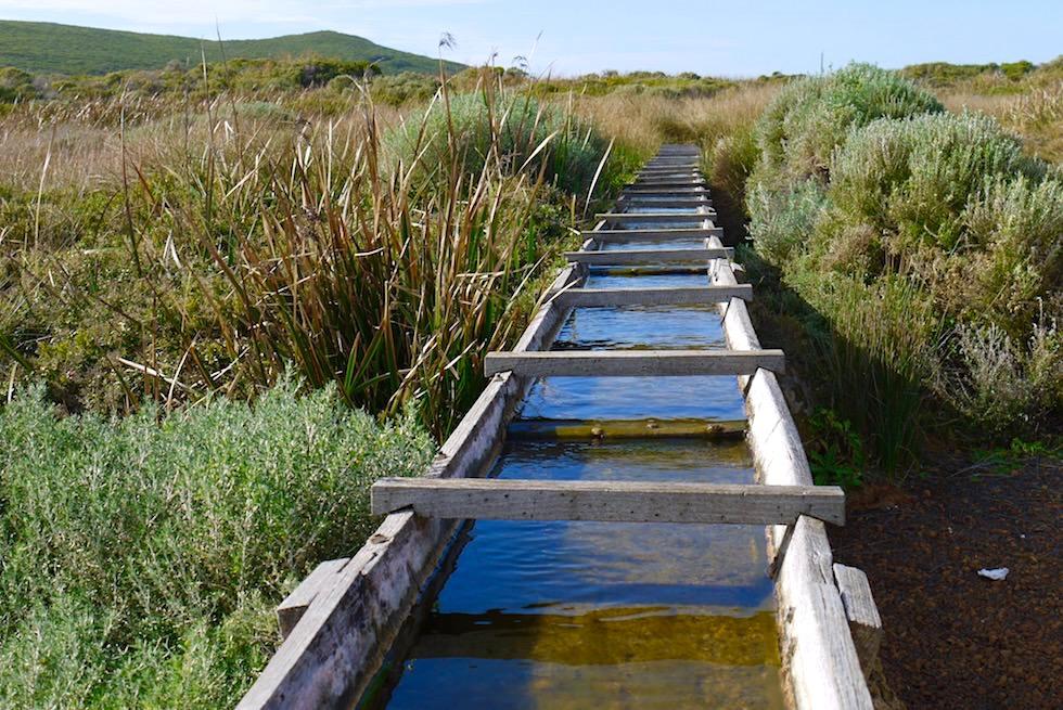 Wasserleitung - Cape Leeuwin Water Wheel - Augusta - Western Australia