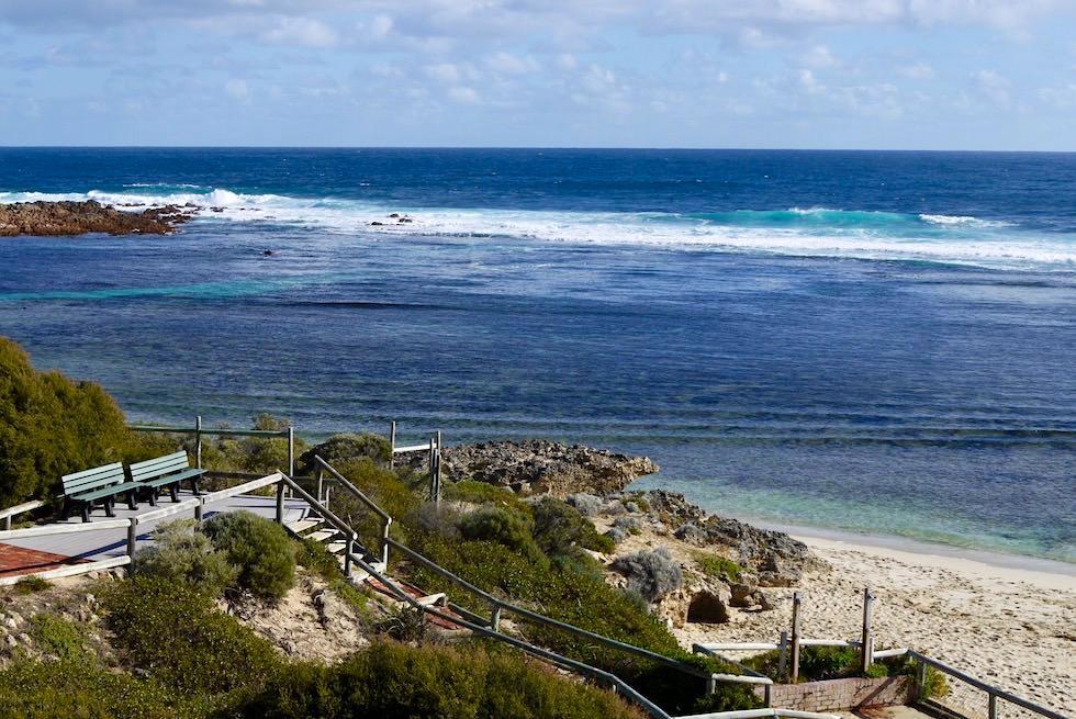 Weg hinunter zum Yallingup Beach - Western Australia