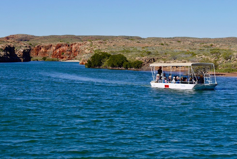 Das Boot von Yardie Creek Boat Tour - Exmouth - Western Australia