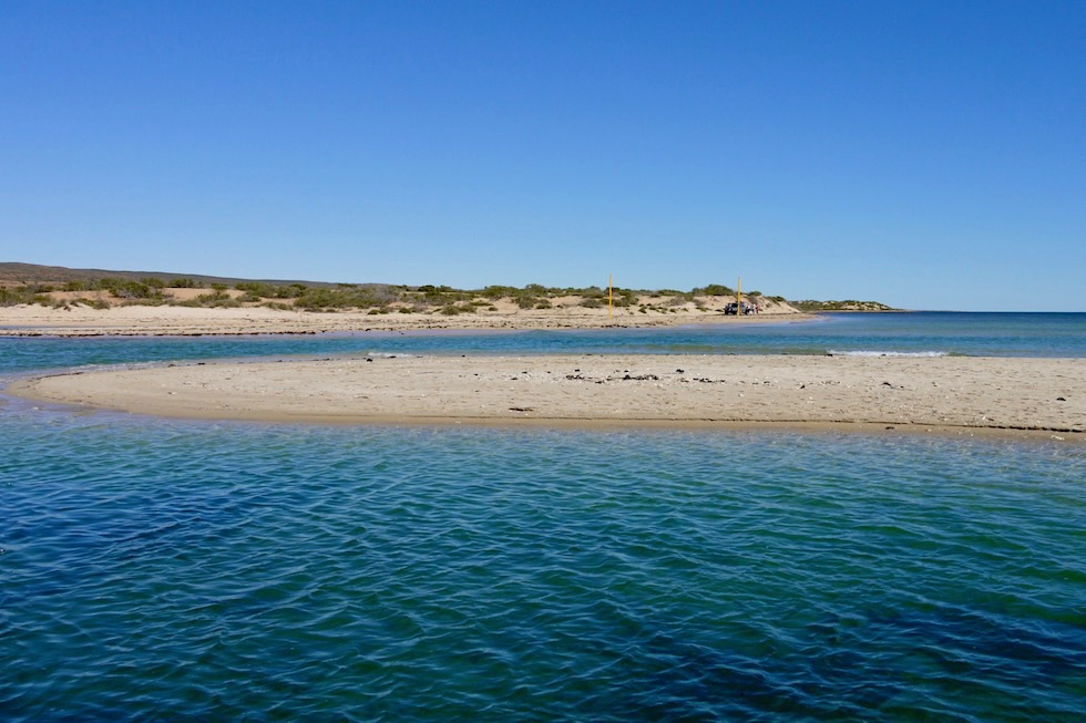 Yardie Creek Meets Ocean - Cape Range National Park - Western Australia