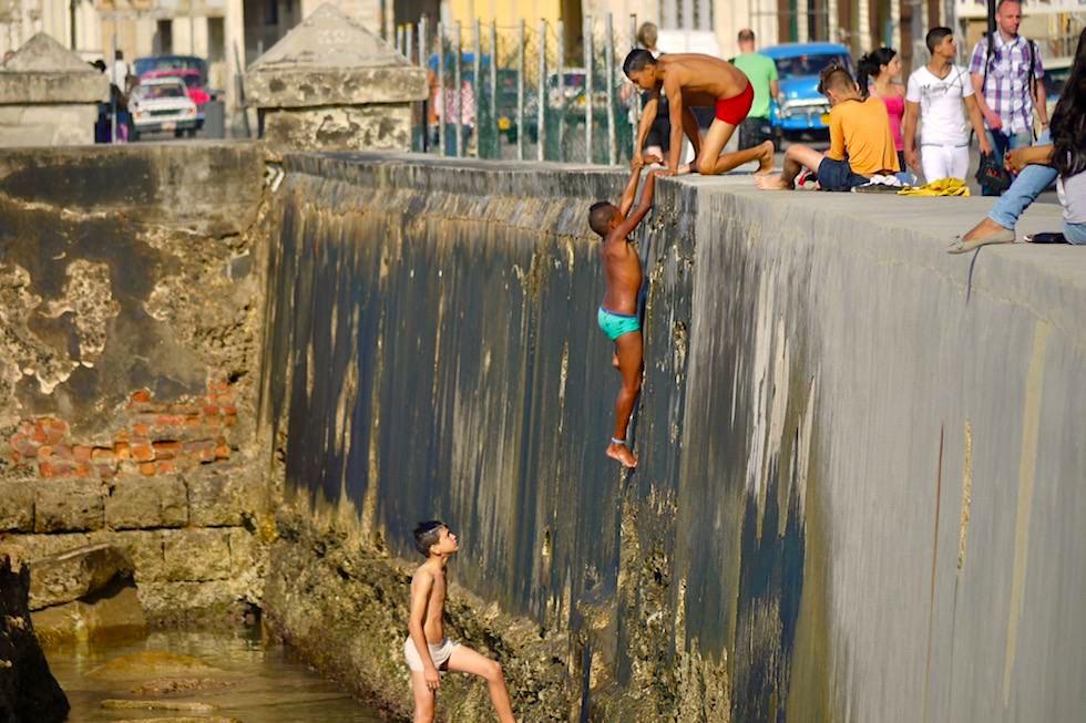 Abenteuerspielplatz Malecón - Habana - Kuba
