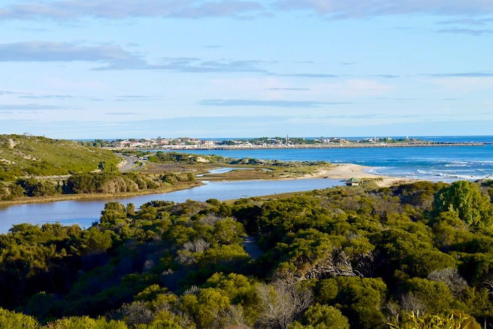 Ausblick- Dongara & Irwin River & Indischer Ozean - Western Australia