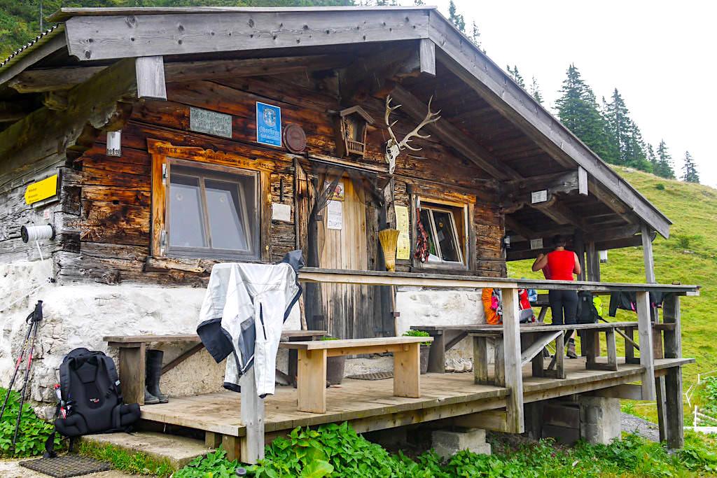 Blaubergalm - Urige Hütte auf der Sonnenseite der Blauberge - Schindelstein, Gufferthütte & Halserspitze Wanderung - Bayern