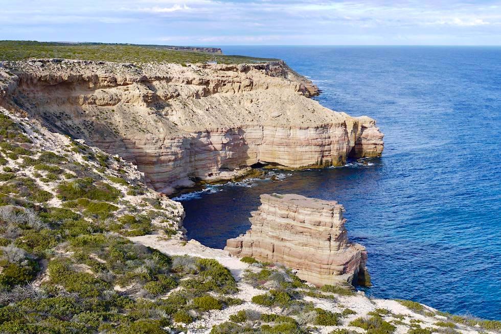 Faszinierender Ausblick vom Boardwalk beim Island Rock - Kalbarri National Park & Coral Coast - Western Australia