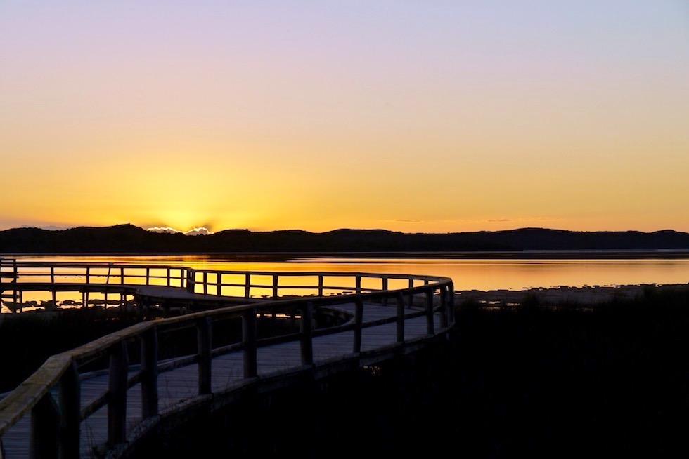 Boardwalk zu den Thrombolithen am Lake Clifton - Western Australia