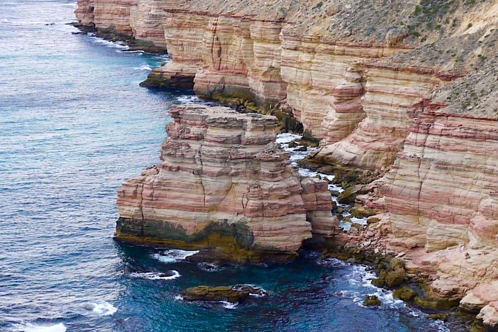 Ganz klar ein Schloss - Castle Cove Lookout an der Kalbarri Küste - Kalbarri National Park - Western Australia