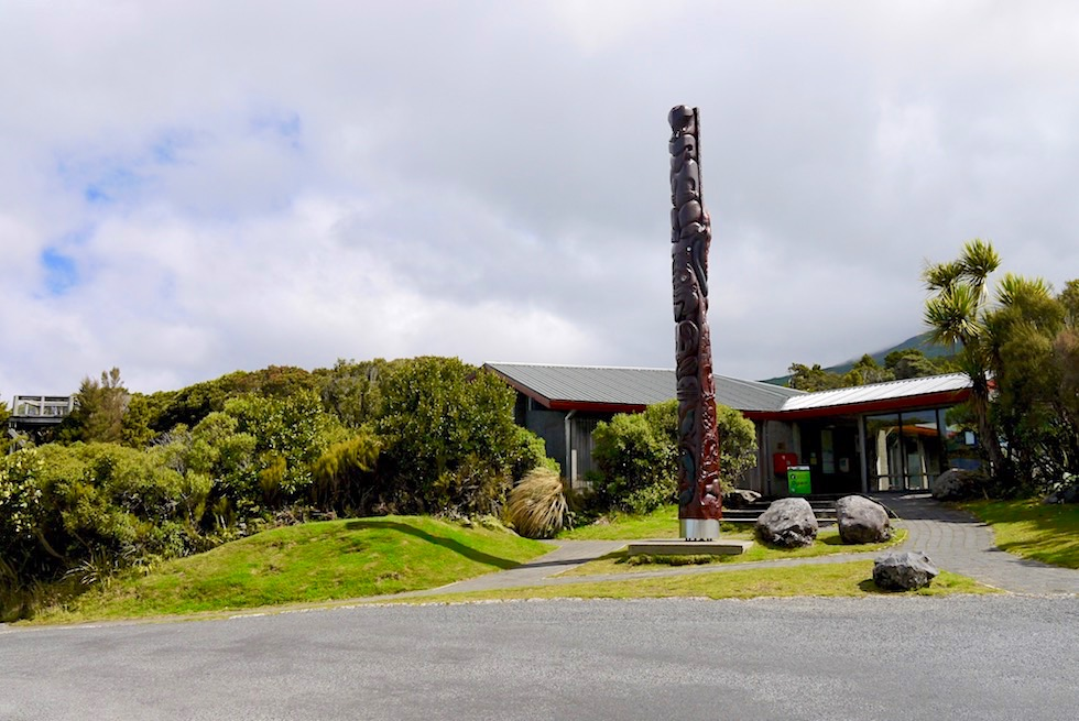 Dawson Falls Visitors Centre beim Mt Taranaki - Egmont National Park - Nordinsel Neuseeland
