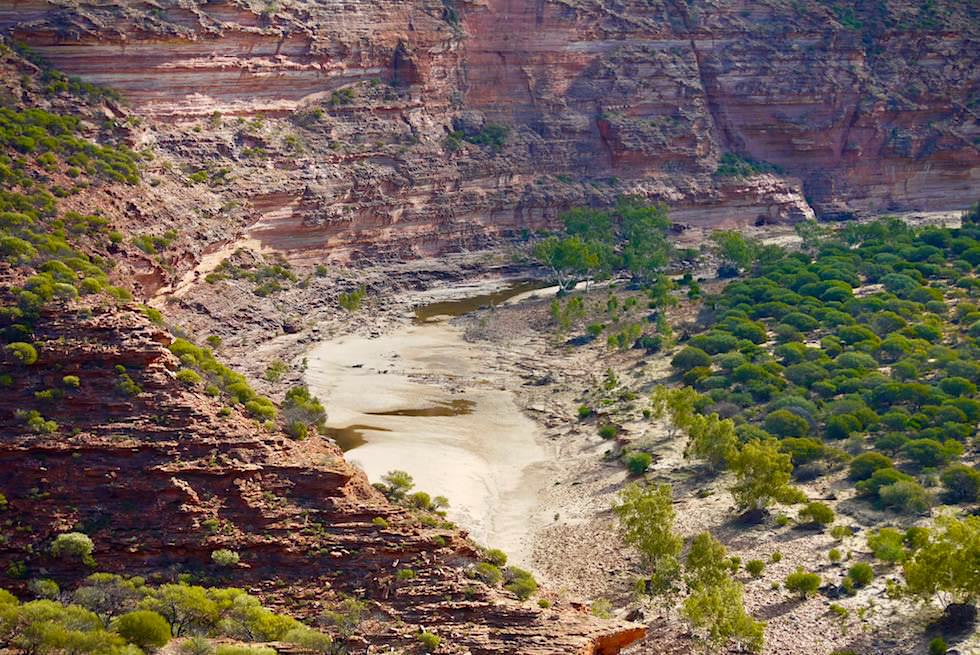Felswände der Murchison Gorge - Kalbarri National Park - Western Australia