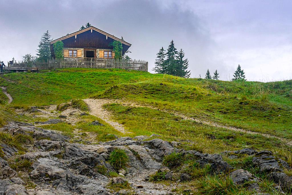 Blauberge Wanderung über Geißalm - Aufstieg Schildenstein-Gipfel - Wildbad Kreuth - Bayern