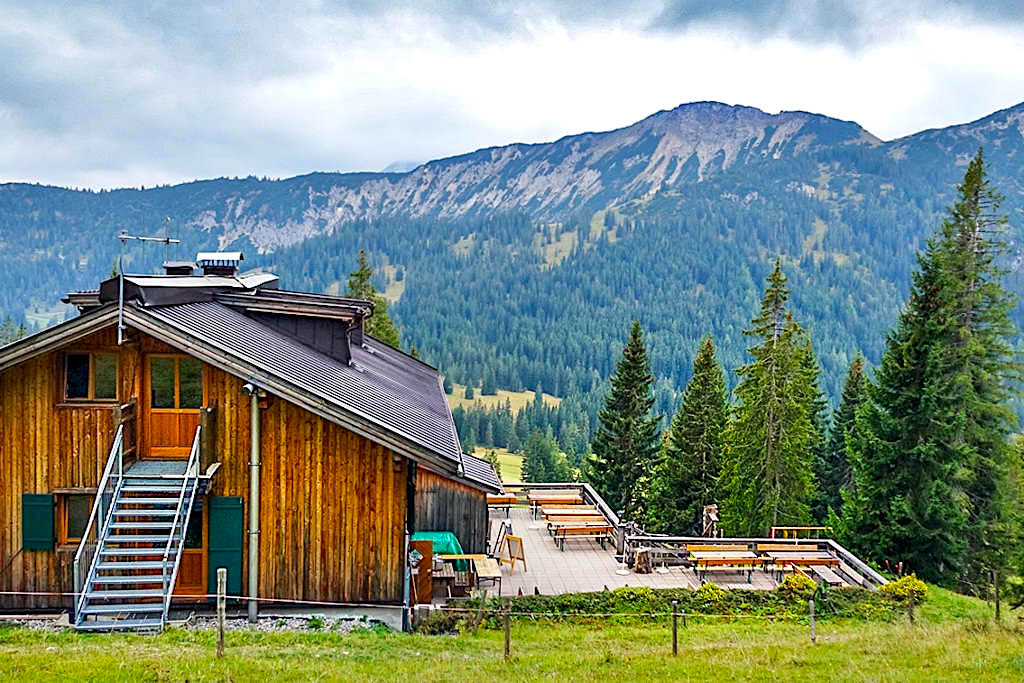 Gufferthütte, Terrasse & Ausblick - Blauberge - Bayern