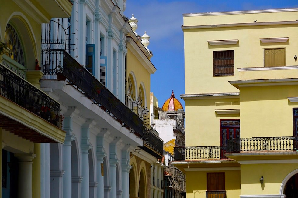 Villen und Prachtbauten in Habanna Veija - Vorzeige-Seite der Altstadt Havannas - Kuba