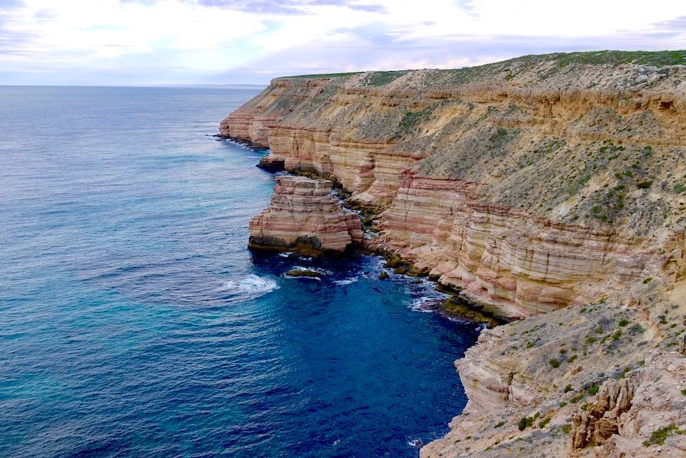 Faszinierende Kalbarri Küste - Blick vom Castle Cove Lookout - Kalbarri National Park - Western Australia