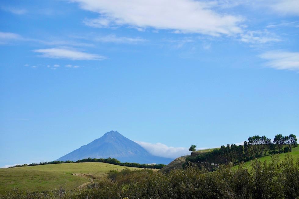 Lahars (Lavaschutthügel) rund um Mt Taranaki - Egmont National Park - Nordinsel Neuseeland