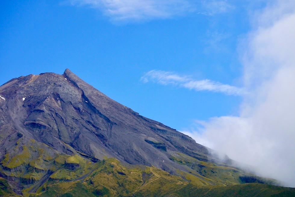 Mt Taranaki Lookout - Dawson Falls Visitor Centre im Mt Egmont National Park - Nordinsel Neuseeland